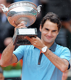 federer french open