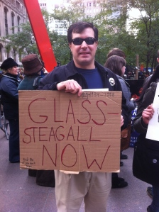 There is public support for reinstituting Glass-Steagall.