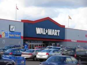 Wal-Mart may cancel its D.C. stores if Mayor Gray signs the bill.