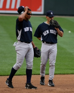 Giardi made sure his team stuck up for A-Rod.