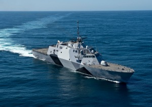 The USS Freedom departed for the Asia-Pacific in the spring.