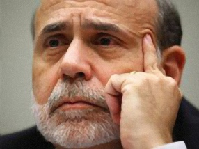 The markets are not listening to Ben Bernanke.
